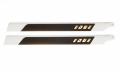 MIK04359 EDGE flybar carbon rotorblades 713mm