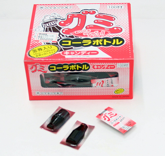 ata-34 【グミ】コーラボトルグミ 100付 【駄菓子】