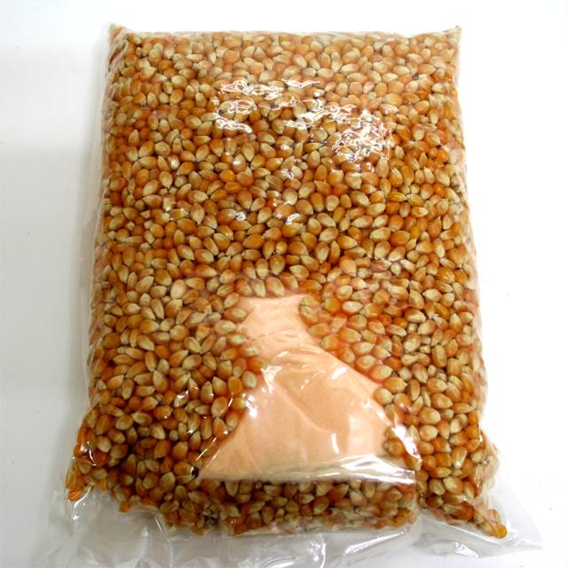 bm-332 ポップコーン豆 2kg入(調味料付)