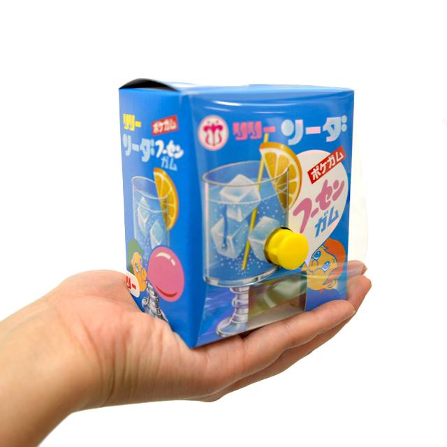 gam-19so ポケガム ソーダフーセンガム 18個入 【玉出しガム/駄菓子】