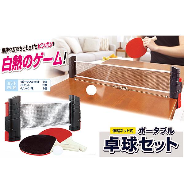 gb-230ff ポータブル卓球セット