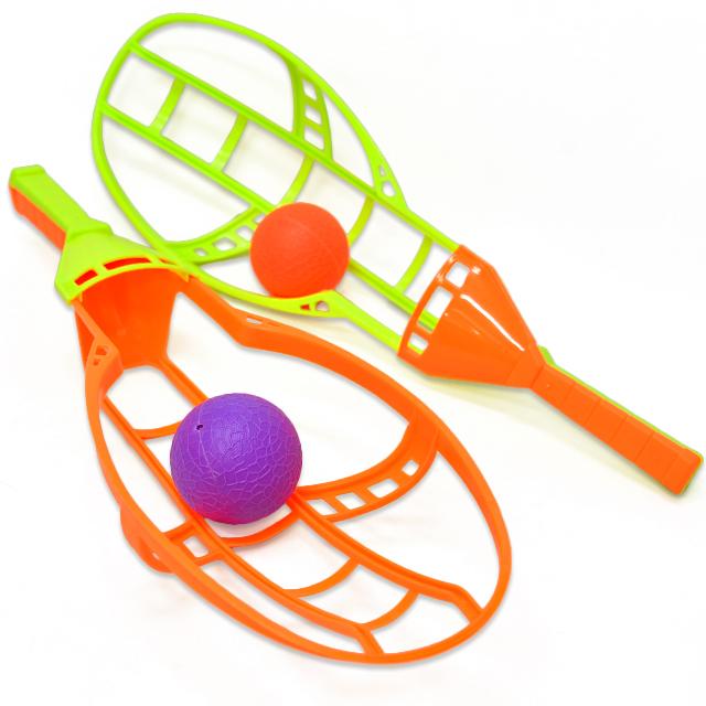 gb-405iyo BIGフライングボールラケット(新スナップラクロス) 1セット