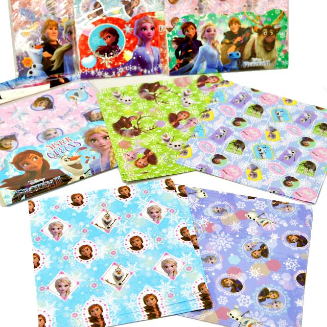 gk-888san アナと雪の女王おりがみ(アナ雪/折紙/折り紙)セット15枚入 25個入