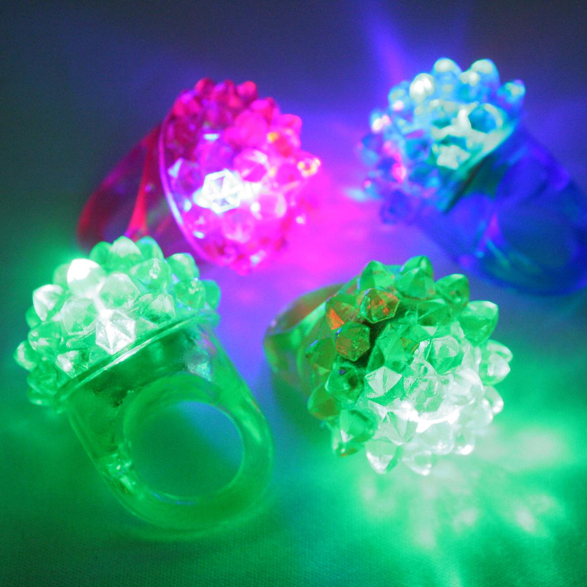 glcs-101toc 【ケース販売】光るフルーツ指輪(光彩フラワーリング) 720入(36個入×20)