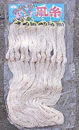 gr-073mik 【木綿】凧糸/タコ糸/たこ糸  24束付