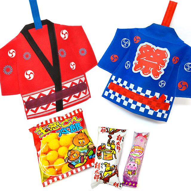 kta-080 ラッピング袋入りお菓子詰め合わせ はっぴ 1個