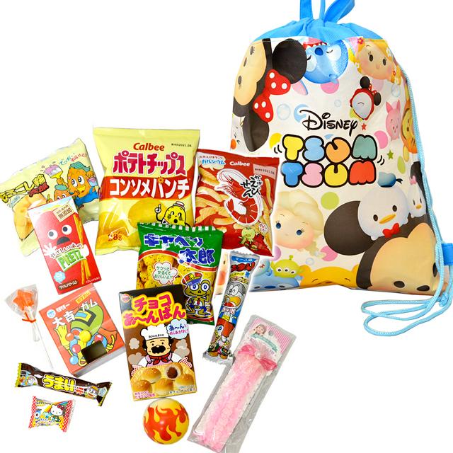 【ディズニーツムツム】2WAYバッグおもちゃお菓子詰め合わせ