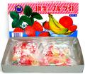 ata-04 糸引き飴 フルーツ 60付【駄菓子】