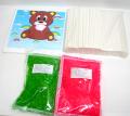 bm-220 綿菓子材料セット【わたがし材料セット】 (カラー)100人用