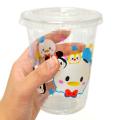 bn-050stop 【10入】ディズニーツムツムかわいいPETカップ蓋付