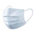 bn-059top 不織布マスク 普通サイズホワイト 50枚入(10枚×5袋入)(新型コロナウイルス対策品/3密防止/飛沫防止/白/三層構造)