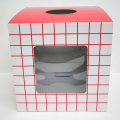 bt-071mai 【紙製・組立式】窓付つかみ取り用箱(組立式、紙・塩ビ製)