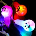 gld-055toc 【限定】【ゴースト柄】光る電球ペンダント 36入