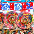 gr-013koz 武者メンコ(めんこ・面子) 12袋付