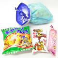 kta-067 ラッピング袋入りお菓子詰め合わせ ミニあさがお 1個 (取合せ/詰め合せ/詰合せ)