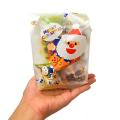kta-076cs 【クリスマス】おもちゃ入菓子詰合せ 半透明おしゃれ袋入 1個