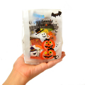 kta-076hw 【ハロウィン】おもちゃ入菓子詰合せ 半透明おしゃれ袋入 1個