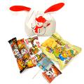kta-079toc 【お菓子入り】かわいい耳付きゆきだるま(雪だるま) 1個
