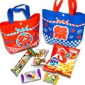 kta-088 :ラッピング袋入りお菓子詰め合わせ お祭りバッグ 1個
