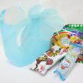 kta-057 ラッピング袋入りお菓子詰め合わせ ブルーミング巾着大 1個