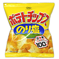 sun-16 ポテトチップス のり塩 24入【駄菓子】
