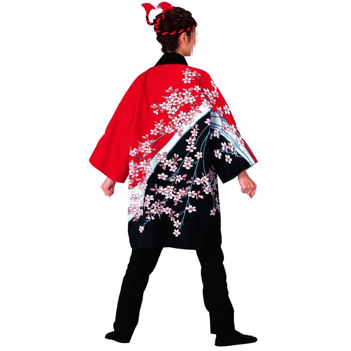 半纏(はんてん・法被・はっぴ) 女性 桜