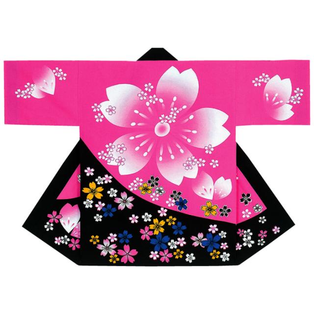 半纏(はんてん・法被・はっぴ) 特大桜