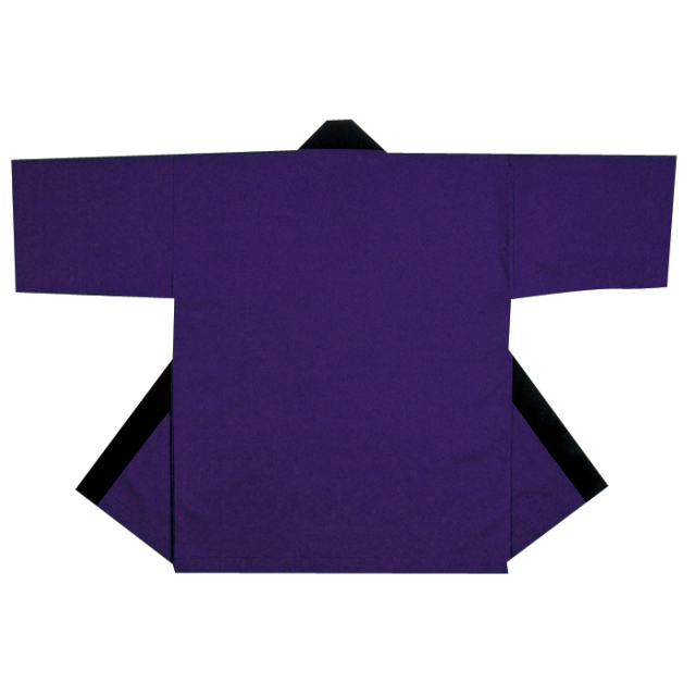 半纏(はんてん・法被・はっぴ) 紫