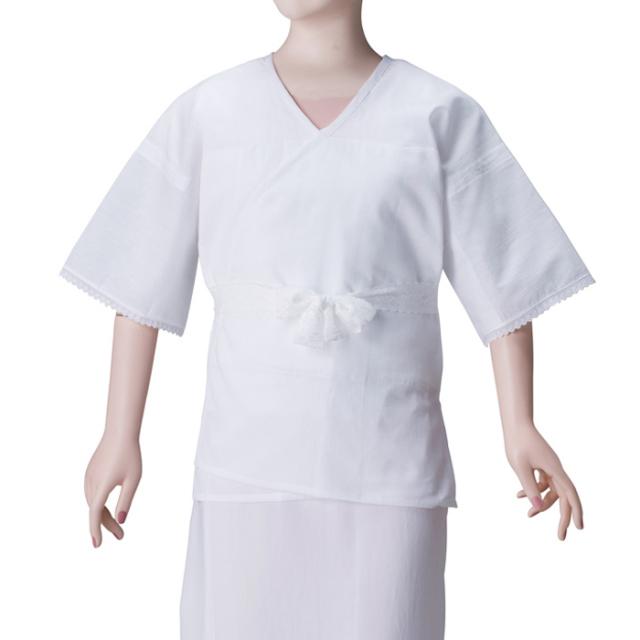真夏の和装肌着(麻わた汗取りパッド付)