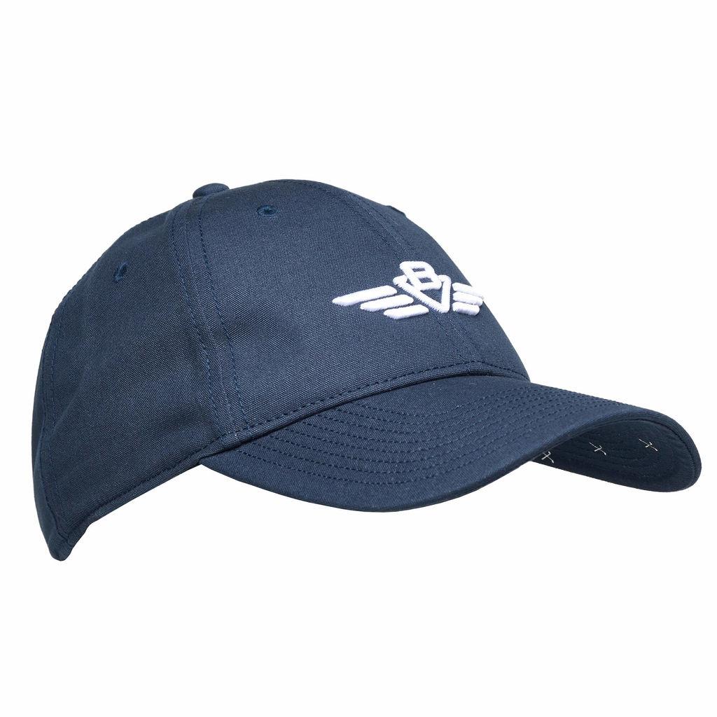 BV Wings Nantucket Cap  Navy/White