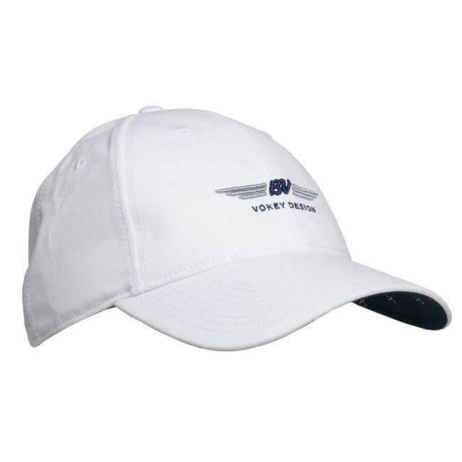 BV Wings Nantucket Cap  White/Navy/Grey