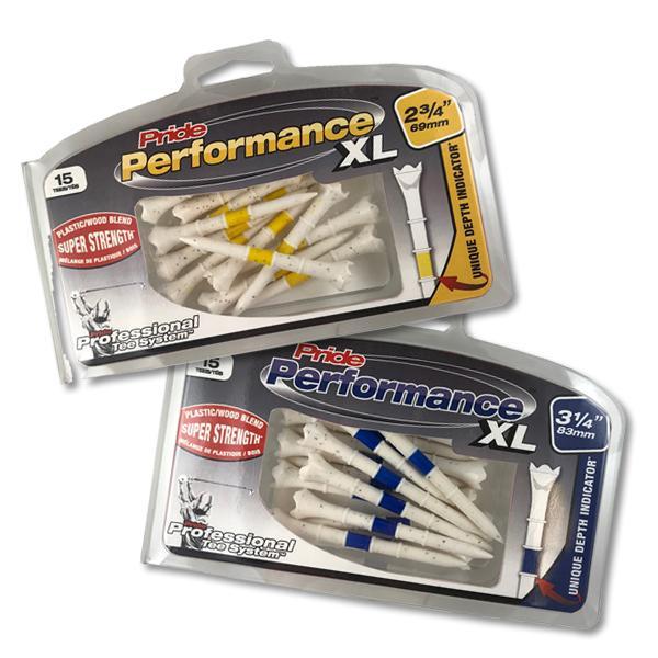 Professional Tee System (PTS) Pride Performance XL Hybrid Golf Tees