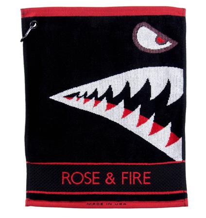 Rose&Fire Bomber/Warhawk Golf Towel