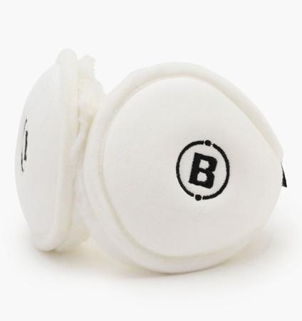 BRIEFING MENS EAR MUFF WHITE
