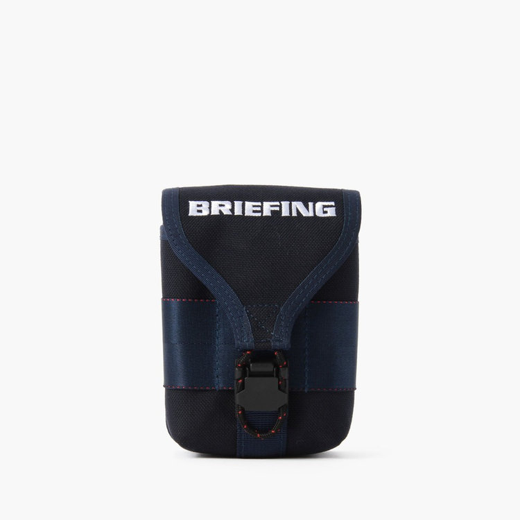 BRIEFING SCOPE BOX POUCH HARD NAVY
