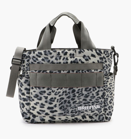 BRIEFING CART TOTE LEOPARD