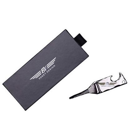 Vokey Bottle Opener Divot Tool Gun Metal/White/Gold