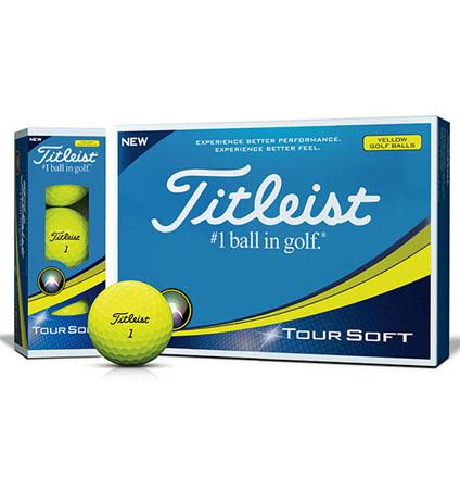 Titleist Tour Soft Yellow