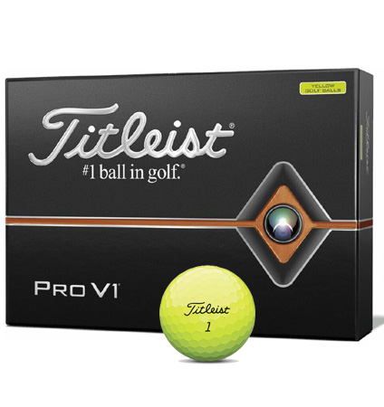 Titleist New Pro V1 Yellow