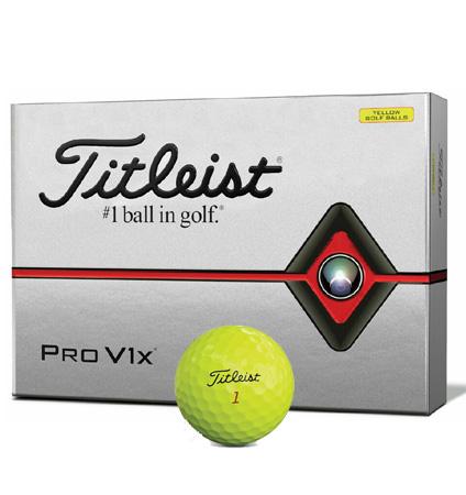 Titleist New Pro V1x Yellow