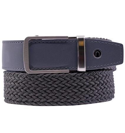 Braided Belt Grey  ラチェット式ベルト