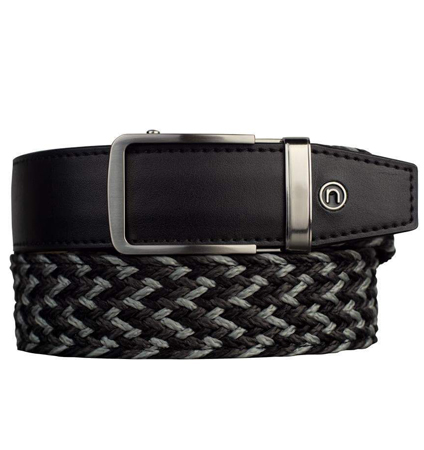 Braided Belt Charcoal ラチェット式ベルト