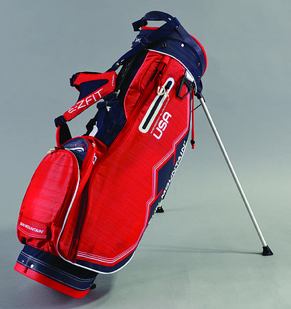 2018 Sun Mountain Women's 4.5 LS Stand Bag Navy/Red/White