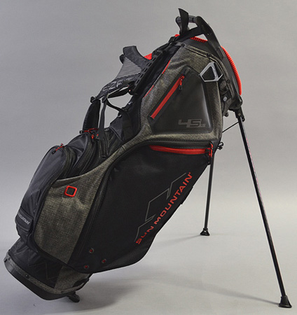 Sun Mountain 4.5 LS Bag Iron/Black/Red