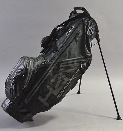 Sun Mountain H2NO Lite Stand Bag Black/Steel