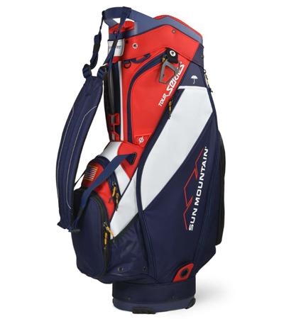 2020 Sun Mountain Tour Series Bag Navy/White/Red