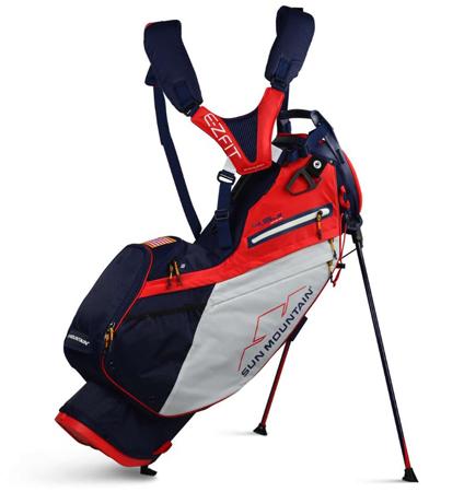 2020 Sun Mountain 4.5 LS 14-WAY Bag Navy/White/Red