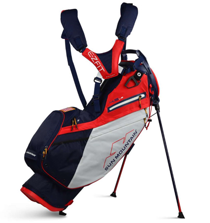 2020 Sun Mountain 4.5 LS Bag Navy/White/Red