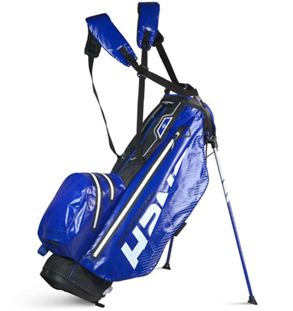 2020 Sun Mountain H2NO Superlite Stand Bag Black/Blue/White