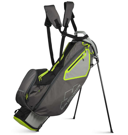 2021 Sun Mountain 3.5 LS Stand Bag Cemnt/Gun/Black/Rush
